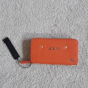 Brand new orange Joe's wallet